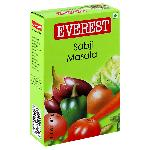 Everest Sabji Masala, 100 g Carton